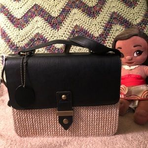 NWT Disney Moana Straw Bag (Doll not included)